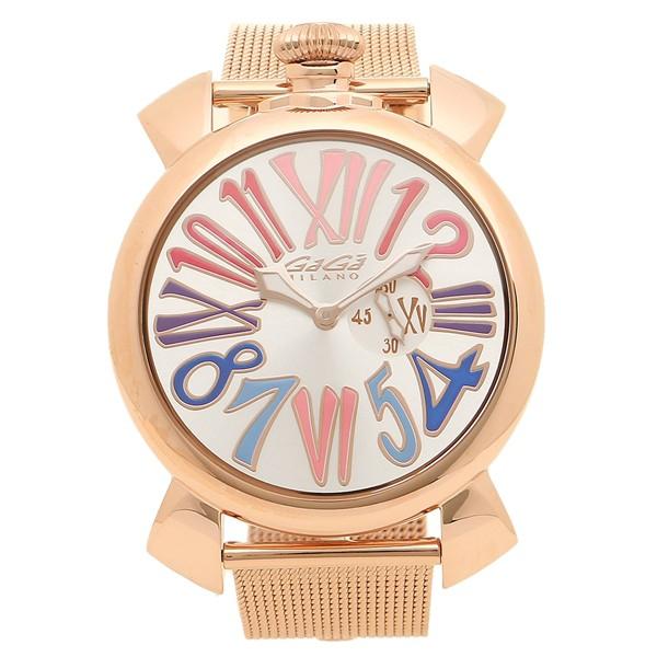 huge discount 798c4 9560a ガガミラノ 腕時計 メンズ GAGA MILANO 5081.1-NEW シルバー ピンクゴールド マルチカラー|au Wowma!(ワウマ)