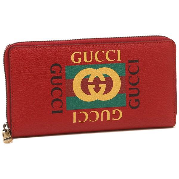 designer fashion cc564 4fb47 グッチ 長財布 メンズ レディース GUCCI 496317 0GDAT 6461 レッド|au Wowma!(ワウマ)
