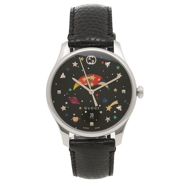 最安値級価格 グッチ 腕時計 レディース GUCCI YA1264045 483603 IAKA0 8489 ブラック, 値札館 ff04ce75