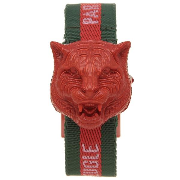 【セール】 グッチ 腕時計 レディース メンズマルシェ デ メルヴェイユ GUCCI YA146409 グリーン レッド, 出産祝 ベビー ギフト プチフィー ee88da50