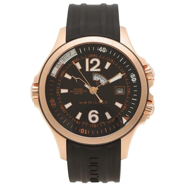 爆買い! ハミルトン 腕時計 メンズ HAMILTON H77545735 42MM ブラック ピンクゴールド, 順ちゃんの酒屋 6d51e8f0