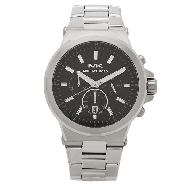 超人気高品質 【返品OK】マイケルコース 腕時計 メンズ MICHAEL KORS MK8730 39MM シルバー ブラック, ハンコ百貨店 76e06335