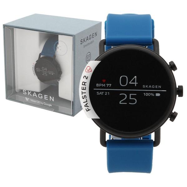 早い者勝ち 【全品P10% スマートウォッチ SKT5112 レディース 3/13 0:00~23:59】【返品OK】スカーゲン 腕時計 ブルー SKAGEN-腕時計男女兼用(ユニセックス)