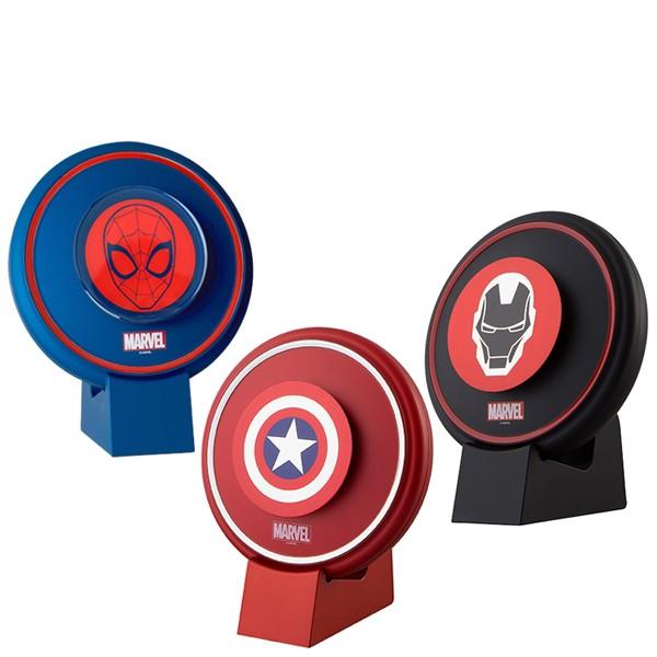 MARVEL マーベル 空気清浄器 Iron Man アイアンマン/Caption America キャプテンアメリカ/Spider Man スパイダーマン【正規品】