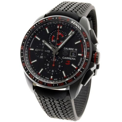 purchase cheap 54529 ad593 タグ・ホイヤー メンズ腕時計 カレラキャリバー16クロノグラフ セナモデル CBB2080.FT6042|au Wowma!(ワウマ)