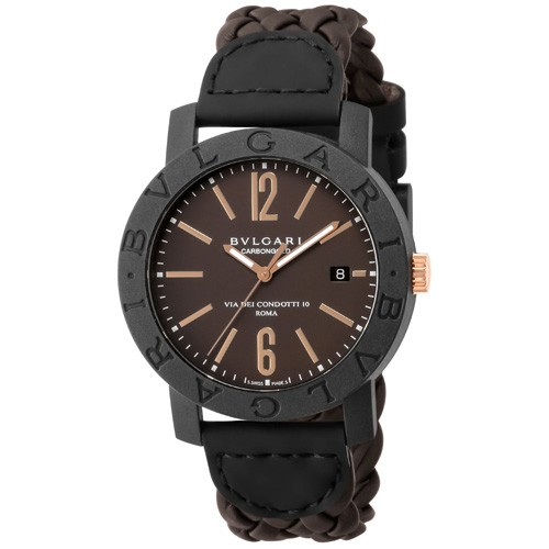 最高 ブルガリ メンズ腕時計 カーボンゴールド BBP40C11CGLD, ジョウエツシ eabade53