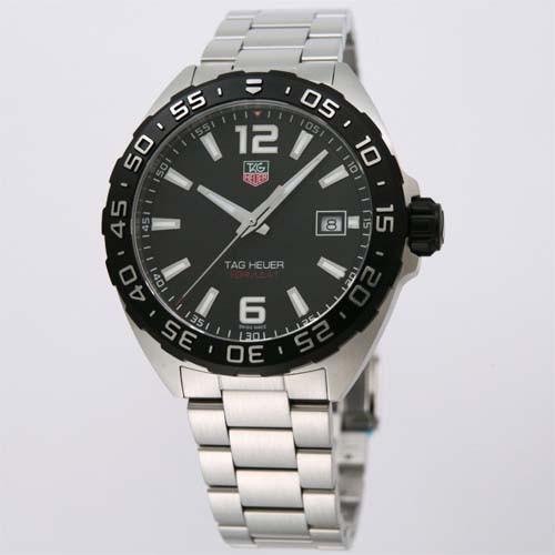 【★大感謝セール】 タグ・ホイヤー メンズ腕時計 フォーミュラ1 WAZ1110.BA0875, ベストプライス ラック 7ea65e45