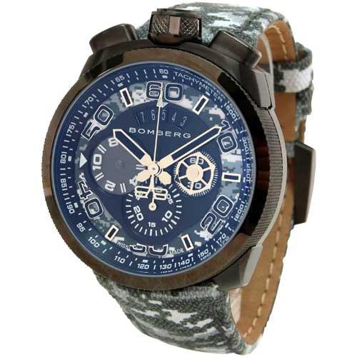 【25%OFF】 ボンバーグ メンズ腕時計 BOLT-68 BS45CHPGM.019.3, ヘダムラ b326e717