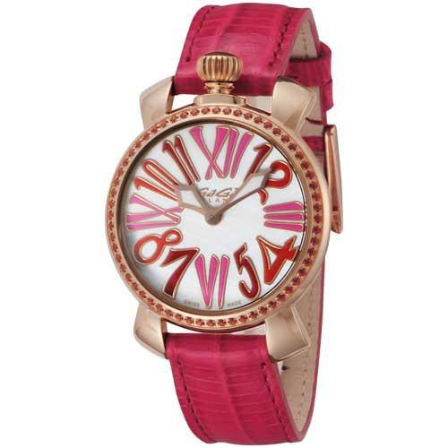 人気新品入荷 ガガミラノ MANUALE35MMSTONES ユニセックス腕時計 MANUALE35MMSTONES ガガミラノ 6026.04, トンバラチョウ:2fdd5164 --- standleitung-vdsl-feste-ip.de