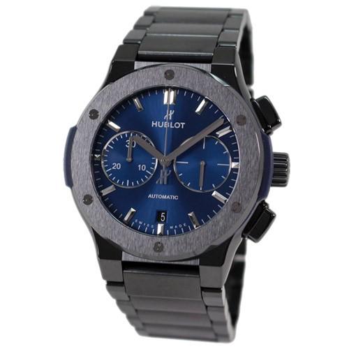timeless design a085f 794ab ウブロ メンズ腕時計 クラシック フュージョン クロノグラフ セラミック ブルー ブレスレット 520.CM.7170.CM au  Wowma!(ワウマ)