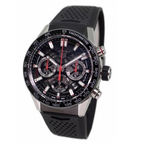 detailing 86ede 112e8 タグ・ホイヤー メンズ腕時計 カレラ ホイヤー02 クロノグラフ CBG2010.FT6143|au Wowma!(ワウマ)
