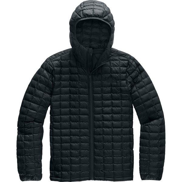 『1年保証』 ノースフェイス メンズ ジャケット&ブルゾン アウター Thermoball Eco Hooded Jacket - Men's Tnf Black Matte, 小さな庭園 74d12564