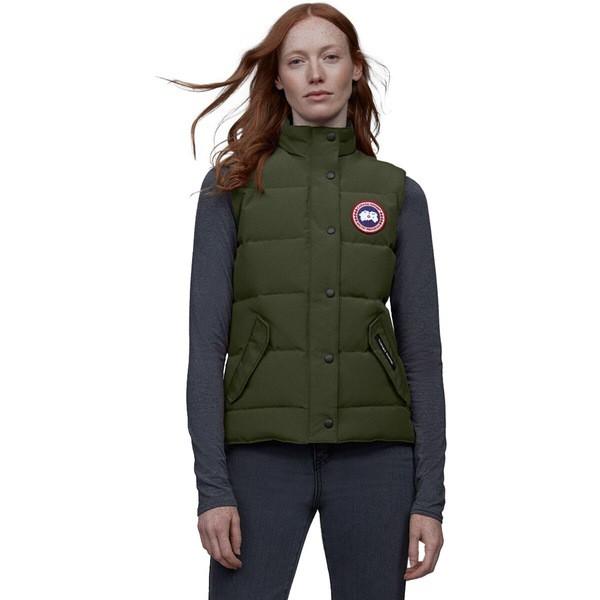 オープニング 大放出セール カナダグース レディース ジャケット&ブルゾン アウター アウター Freestyle Down Vest Vest - Women's Women's Military Green, 佐伯町:3844dc71 --- eu-az124.de