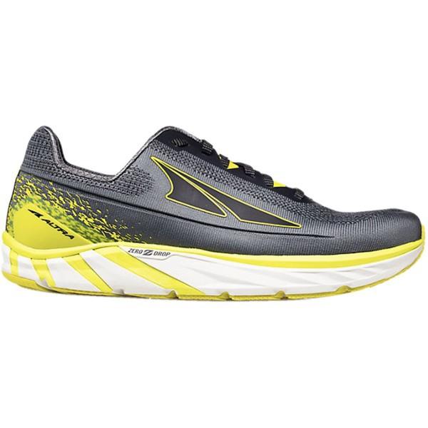 新作人気 オルトラ メンズ スニーカー シューズ Torin 4 Plush Running Shoe - Men's Gray/Lime, 滝根町 d9569b3a