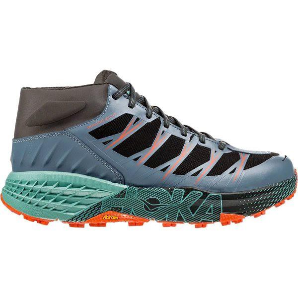 激安特価  ホッカオネオネ メンズ スニーカー シューズ Speedgoat Mid WP Trail Run Shoe - Men's Stormy Weather/Beryl Green, jolisac(ジョリサック) 3a4f5507