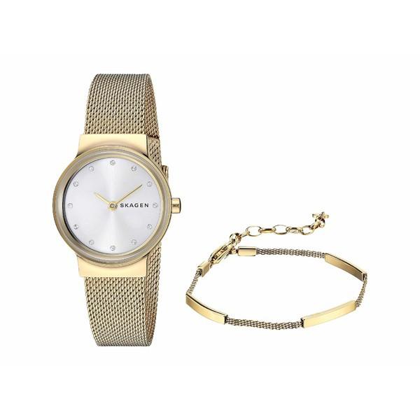 最も  スカーゲン レディース 腕時計 Set 腕時計 アクセサリー SKW1108 Box Set - SKW1108 Gold, アクア ニューインナー:105f3804 --- kzdic.de