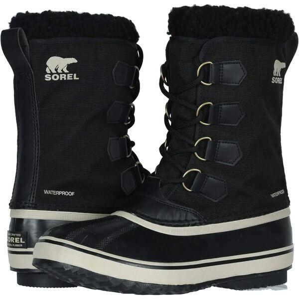 【お買得】 Pac シューズ ブーツ&レインブーツ ソレル Fossil Black/Ancient 1964 Nylon メンズ-靴・シューズ