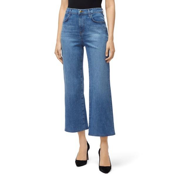 格安新品  カジュアルパンツ High ボトムス Crop ジェイブランド Jeans Fluent Brand Waist レディース Joan (Andromeda) J Flare-パンツ