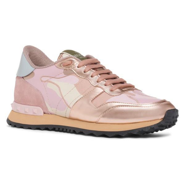 春先取りの ヴァレンティノ ガラヴァーニ レディース スニーカー シューズ VALENTINO GARAVANI Rockrunner Sneaker (Women) Rose, bales(バルス) 5db4e9f4