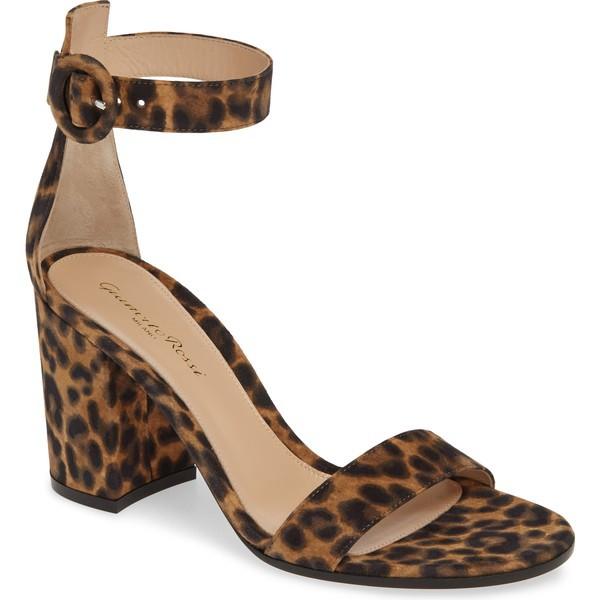 特別セーフ ジャンヴィト ロッシ レディース サンダル Sandal シューズ ジャンヴィト Gianvito Rossi Rossi Leopard Print Ankle Strap Sandal (Women) Leopard, 古座川町:d5ff0b70 --- ballettstudio-gri.de