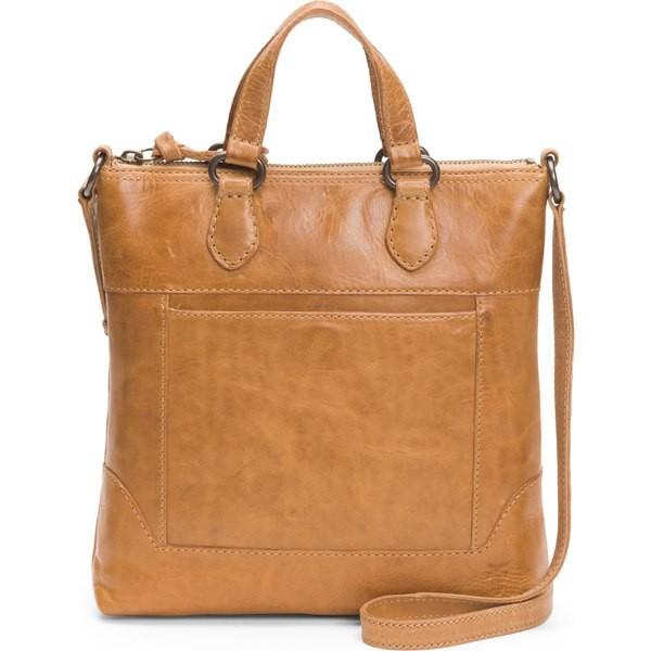 大勧め フライ レディース フライ ハンドバッグ バッグ レディース Frye Melissa Small Leather Leather Tote Beige, 豆匠 豆福:cf9dd924 --- chevron9.de