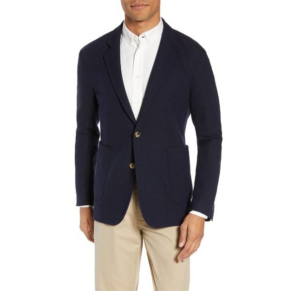 素晴らしい価格 ビリーレイド Slim メンズ ジャケット&ブルゾン アウター Blend Billy ビリーレイド Reid Dylan Slim Fit Knit Wool Blend Sport Coat Navy, 対馬水産 西のとろあなご:23887f97 --- standleitung-vdsl-feste-ip.de