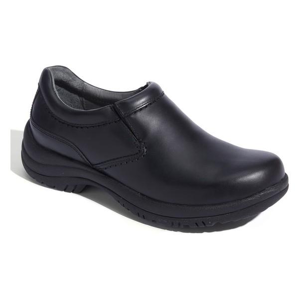 素晴らしい品質 スリッポン・ローファー メンズ シューズ ダンスコ Dansko 'Wynn' Slip-On Black-靴・シューズ