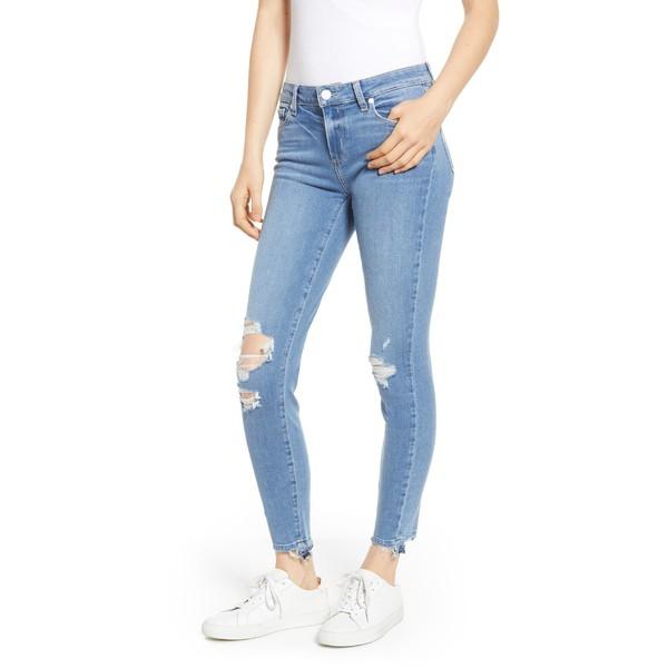 【再入荷!】 ペイジ レディース カジュアルパンツ Transcend ボトムス Verdugo PAIGE Transcend - (Rica Verdugo Ripped Undone Hem Ankle Skinny Jeans (Rica Destructed) Ric, 輸入家具 Lassic:6cdd3b81 --- buergerverein-machern-mitte.de