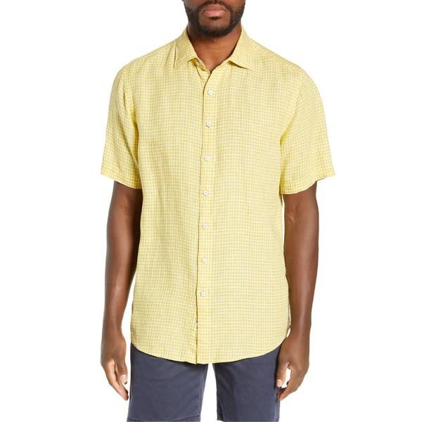 有名なブランド ロッドアンドグン Fit メンズ シャツ トップス Rodd & Sport Gunn Williamson Regular シャツ Fit Linen Sport Shirt Lemon, Tentendo:28b8e4a6 --- standleitung-vdsl-feste-ip.de