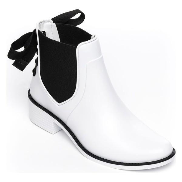 【お買得】 ベルナルド レディース ブーツ&レインブーツ シューズ Bernardo Paxton Waterproof Rain Boot (Women) White, 甲賀市 9002b908
