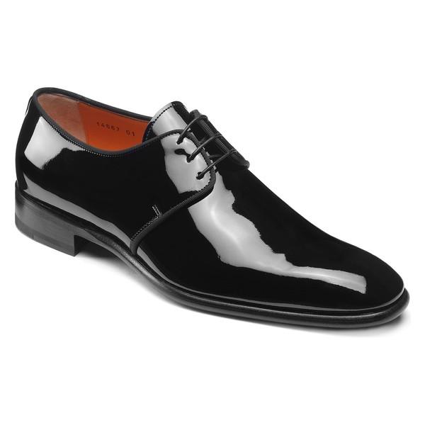 新着 サントーニ メンズ スリッポン・ローファー シューズ Santoni Isogram Plain Toe Derby (Men) Black, THE WATCH SHOP. afca789f