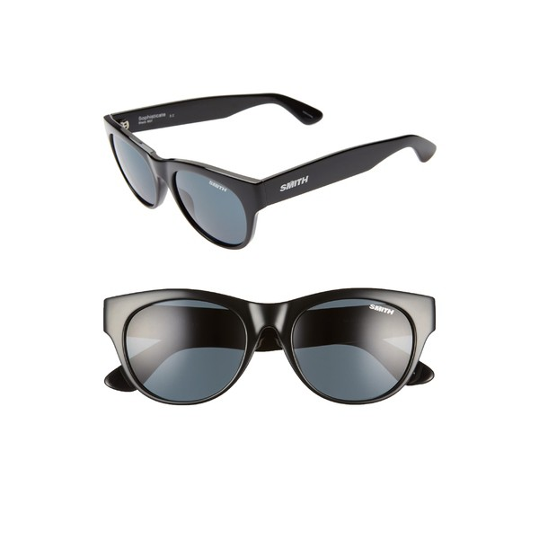 限定版 スミス Eye レディース ChromaPop サングラス&アイウェア アクセサリー Smith Sophisticate 54mm 54mm ChromaPop Polarized Cat Eye Sunglasses Black/ Blac, 博多牛もつ鍋 茶びん:e8feb710 --- united.m-e-t-gmbh.de