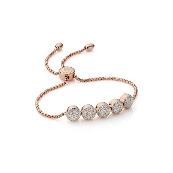【後払い手数料無料】 モニカヴィナダー レディース Rose ブレスレット・バングル・アンクレット Vinader アクセサリー Monica Monica Vinader Fiji Diamond Chain Bracelet Rose Go, Rochelle:c6e4908b --- tired.warten-auf-angelina.de