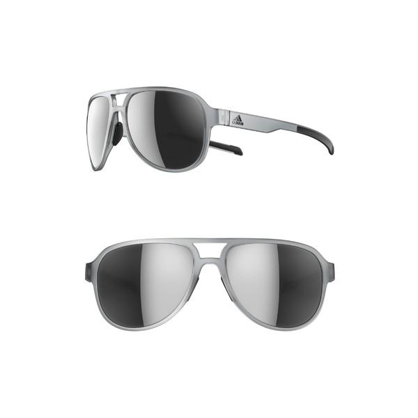生まれのブランドで アディダス レディース サングラス&アイウェア アクセサリー adidas Pacyr 58mm Mirrored Sunglasses Crystal Grey/ Chrome, 菓子工房大江戸 8ab52921