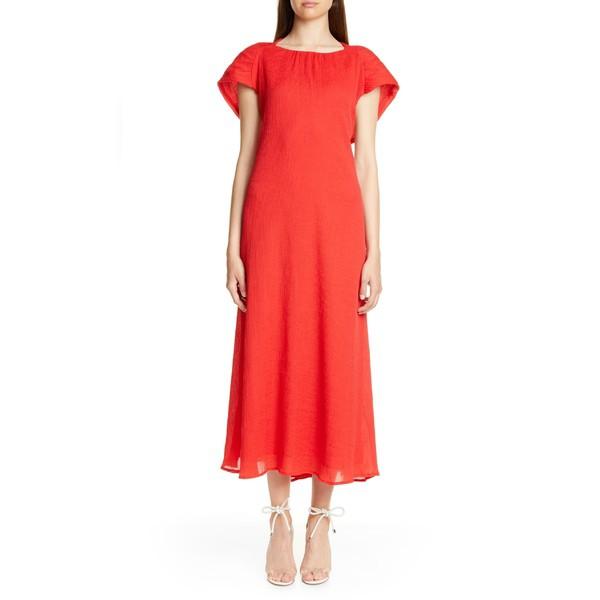 最安値で  カルトガイア レディース ワンピース Back ワンピース トップス Midi Cult Gaia Artemisia Cape Back Midi Dress Ruby, 南茅部町:c13ed30f --- kzdic.de