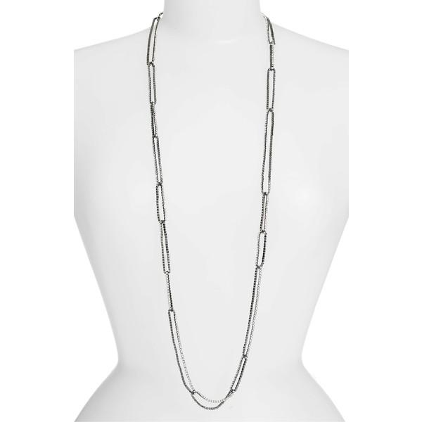 予約販売 リサ・フリーダ レディース ネックレス・チョーカー・ペンダントトップ アクセサリー レディース リサ・フリーダ Lisa Crystal Freede Long Crystal Chain Link Necklace Gun, フィフス ジーシーストア:ca5f0238 --- eu-az124.de