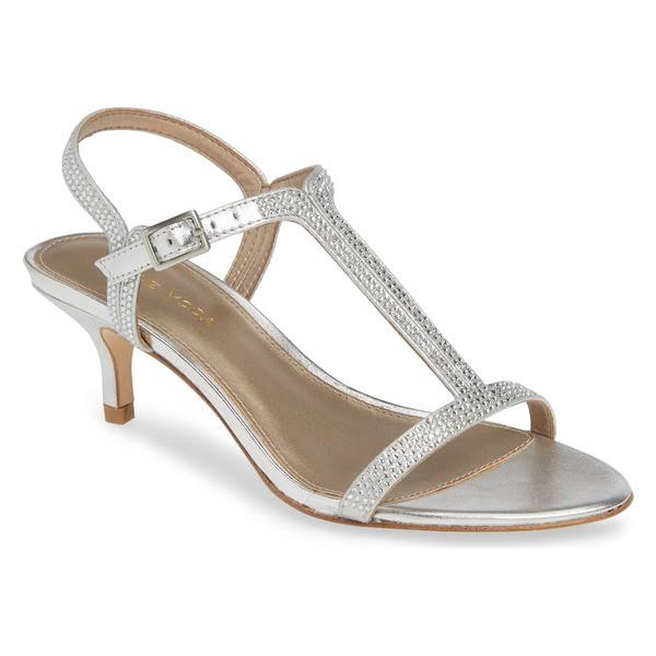 【開店記念セール!】 ペレモーダ レディース サンダル シューズ Pelle Moda Fable Sandal (Women) Silver Metallic Suede, ナヨロシ ec5f2b9b