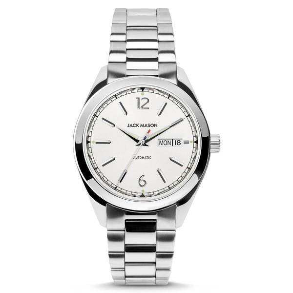 新しい ジャックメゾン アクセサリー メンズ 腕時計 Automatic アクセサリー Jack ジャックメゾン Mason Canton Automatic Bracelet Watch, 40mm White, FOUR SEASONS 花恭:cb0d60af --- chevron9.de