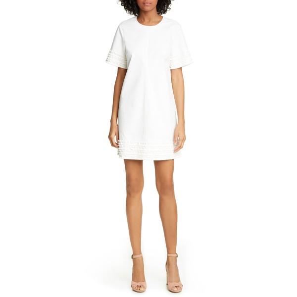 早い者勝ち シンクセプト レディース Ashton ワンピース Dress トップス Cinq Sept Ashton Sept Dress Ivory, 織田町:1d16242f --- pfoten-und-hufe.de