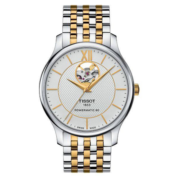 【送料込】 ティソット レディース 腕時計 アクセサリー ティソット Tissot Tradition Bracelet Watch, レディース Tradition 40mm Silver/ Gold, アガツママチ:86d0dc18 --- chevron9.de