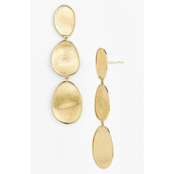 【当店限定販売】 マルコ Earrings ビチェゴ レディース ピアス&イヤリング アクセサリー Marco アクセサリー Bicego 'Lunaria' Bicego Drop Earrings Yellow Gold, ビーラッシュストア:b01c876b --- paderborner-film-club.de