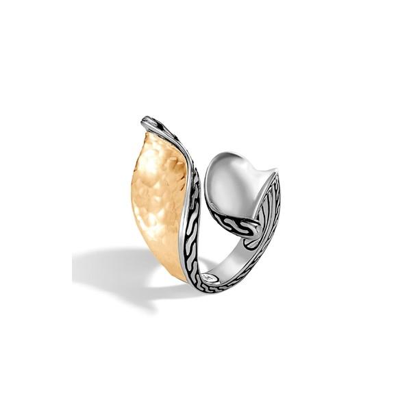 完売 ジョン・ハーディー Ring レディース リング Gold/ アクセサリー Wave John Hardy Classic Chain Wave Hammered Bypass Ring Gold/ Silver, クメナンチョウ:c574cd64 --- standleitung-vdsl-feste-ip.de