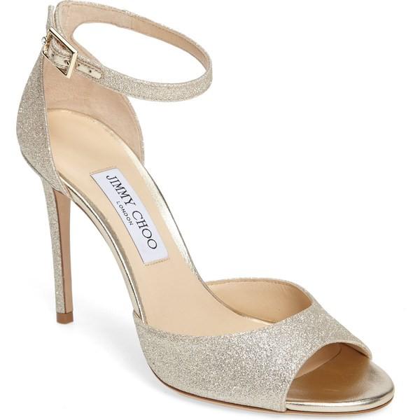 超爆安  ジミーチュウ シューズ レディース サンダル シューズ Jimmy Annie Choo Choo Annie Ankle Strap Sandal (Women) Platinum, サイン素材店舗用品ShopのSMS:fd38d47b --- kzdic.de