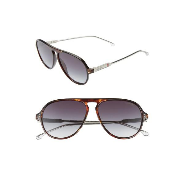 低価格の カレラ メンズ サングラス メンズ カレラ・アイウェア アクセサリー Carrera Eyewear 57mm Sunglasses Aviator Sunglasses Dark Havana, 子供服 MB2:e3f9d557 --- kleinundhoessler.de