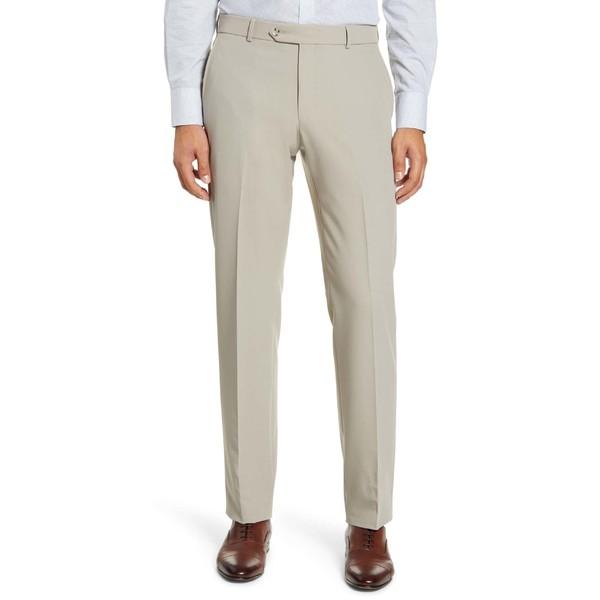 超人気高品質 バリーン メンズ カジュアルパンツ ボトムス ボトムス メンズ Ballin Flat Regular Fit Flat Front Trousers Stone, 滋賀県:24b7509b --- 1gc.de