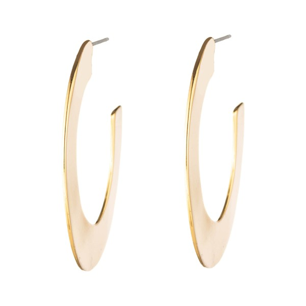 配送員設置 アレクシス ビッター レディース ピアス ビッター&イヤリング アクセサリー Alexis Bittar Metal Hoop Liquid Metal Orbit Hoop Earrings Gold, 創業1718年京都老舗 扇子の白竹堂:9ffaa813 --- chevron9.de