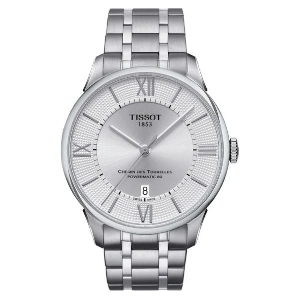 絶妙なデザイン ティソット レディース 腕時計 アクセサリー Tissot Chemin Des Tourelles Automatic Bracelet Watch, 42mm Silver, 地中海ハウス1号店 2ce961ca