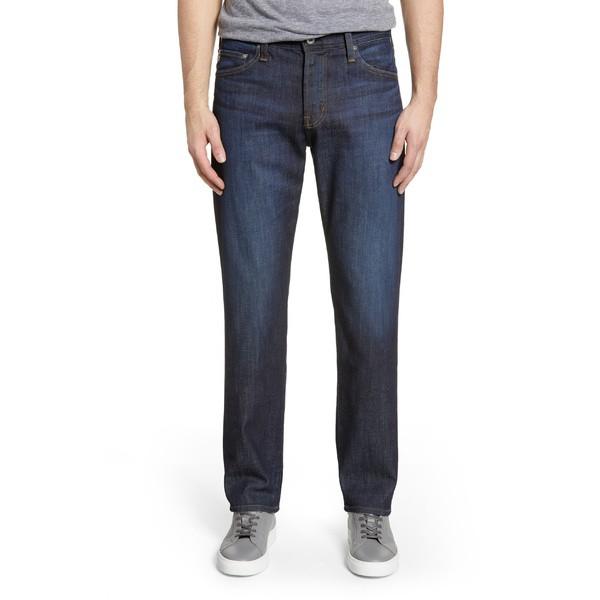 人気沸騰ブラドン エージー メンズ カジュアルパンツ ボトムス AG Everett Slim Straight Leg Jeans (Free Fall) Free Fall, AutoSite 4fc79b33