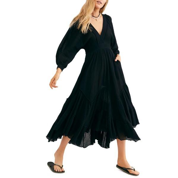 【福袋セール】 フリーピープル レディース ワンピース トップス Endless Summer Summer by Free People Dress Maxi I Need to Know Maxi Dress Black, ジモクジチョウ:1563ea7f --- kzdic.de