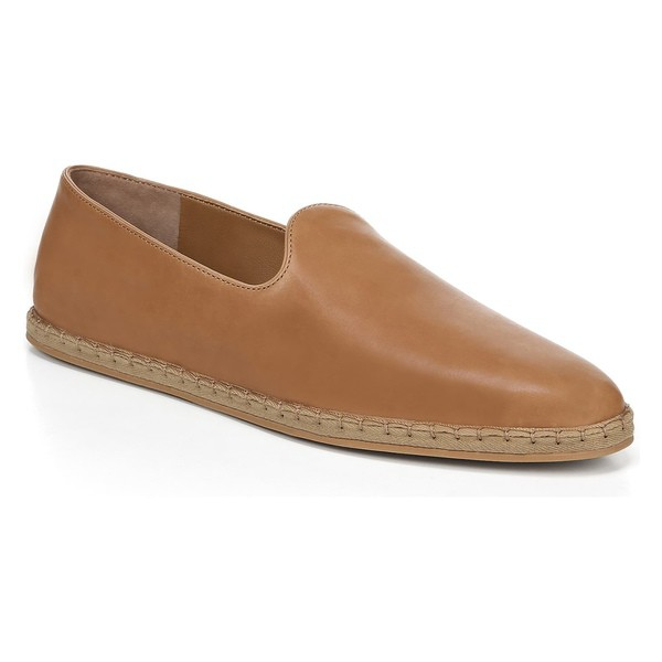高速配送 ヴィンス レディース サンダル シューズ Vince Malia Loafer Flat (Women) Tan Leather, 山の里 e125af13